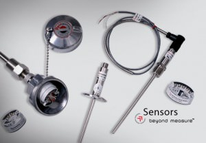 Pyromation Water-Tight CIP RTD Assemblies With Series 450 Integral Transmitter